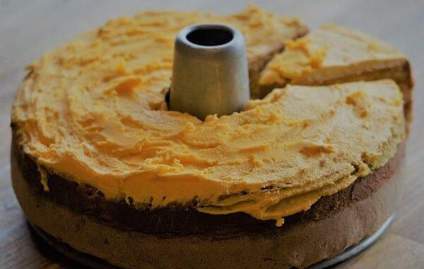 Jackfruit chiffon cake
