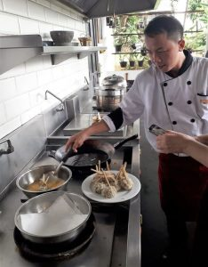 Ka-Toke cooking class koken in Laos