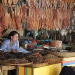 lokale markt Siep Raep Cambodja
