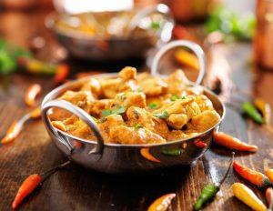 De Indiase keuken met hun regionale specialiteiten