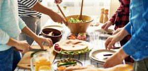 Samen koken zorgt ervoor dat je tot rust komt
